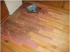 repairing water damaged floors