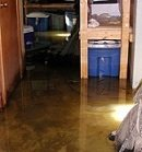 water damage sewage system backed up