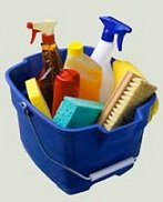 water damage cleaning agents